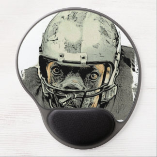 Dog player gel mouse pad