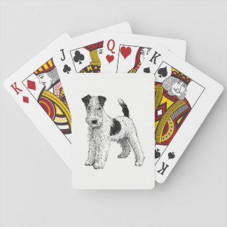 Dog Playing Cards - Fox Terrier