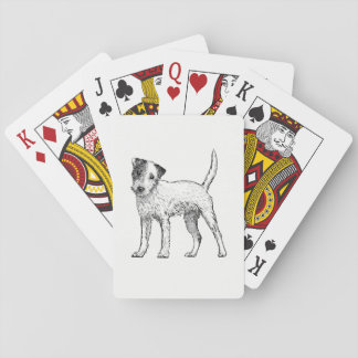 Dog Playing Cards - Jack Russell Terrier