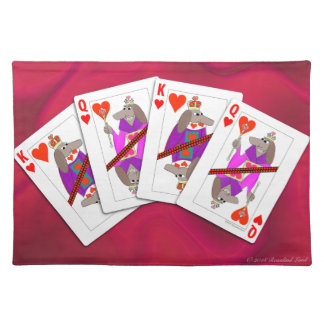 Dog Playing Cards Placemat