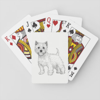Dog Playing Cards - West Highland Terrier