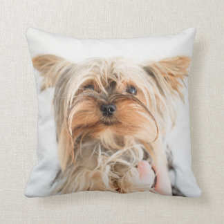 "Dog Polyester Throw Pillow, Throw Pillow 16"" x 16"""