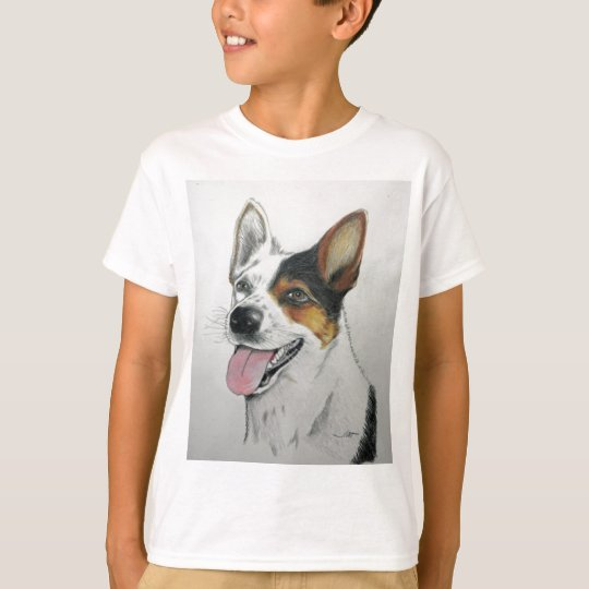 Dog portrait, by Jim Ott T-Shirt