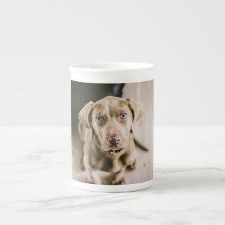 Dog portrait tea cup