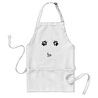 dog print standard apron