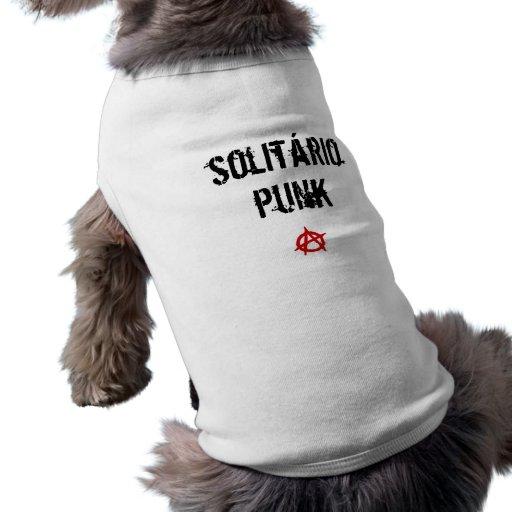 dog punk pet shirt