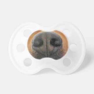 Dog Puppy Nose Snoot Baby Pacifier