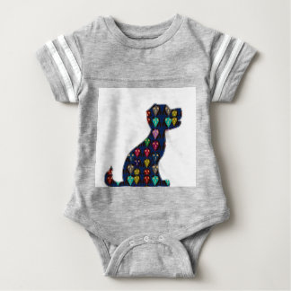 DOG PUPPY PET Gifts for Kids and Animal Lovers Baby Bodysuit