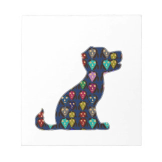 DOG PUPPY PET Gifts for Kids and Animal Lovers Notepad