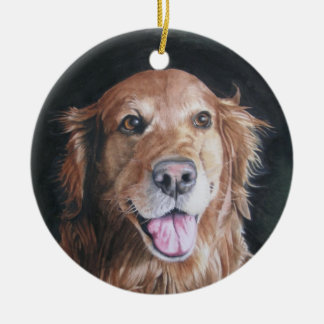 Dog Remembrance Ornament /Golden Retriever