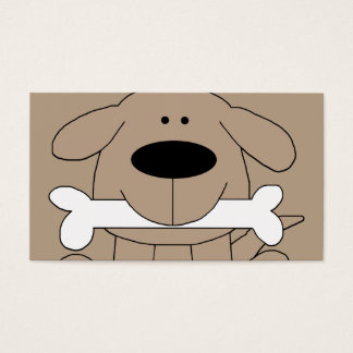 Dog Retail Supply Store Business Card