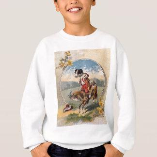 Dog Rides the Goat Sweatshirt
