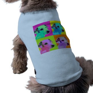 Dog shirt, Jack Russels Terrier. Popart Design Doggie T-shirt