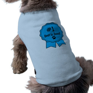 Dog Show Best in Breed Blue Ribbon Dog Clothes
