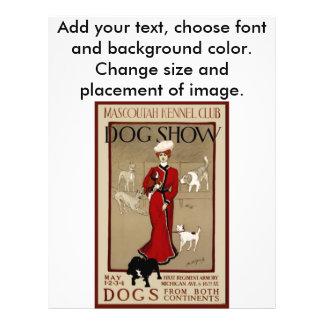Dog Show Flyer Design