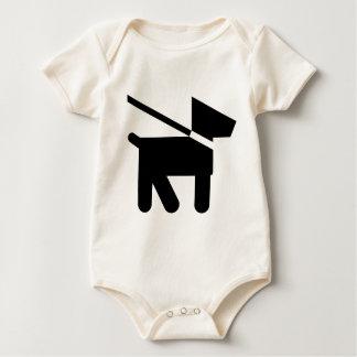 Dog Silhouette! Baby Bodysuit