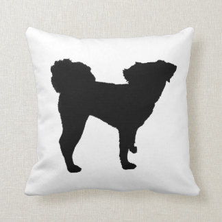 Dog Silhouette Pillow