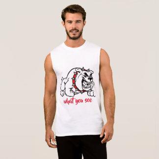 Dog Sleeveless Shirt