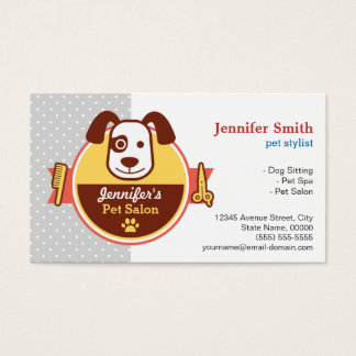 Dog Spa Salon - Appointment Card