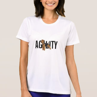 Dog Sports: Agility Welsh Terrier T-Shirt