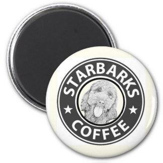 dog Starbucks Magnet