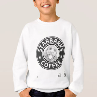 dog Starbucks Sweatshirt
