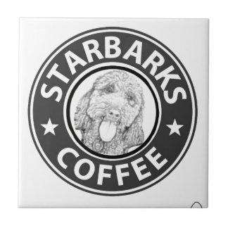 dog Starbucks Tile