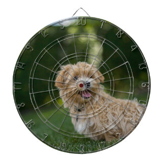 Dog Summer Out Pet Animal Fun Happy Vacation Dartboard