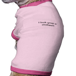 dog t-shirt  with an attitude funny