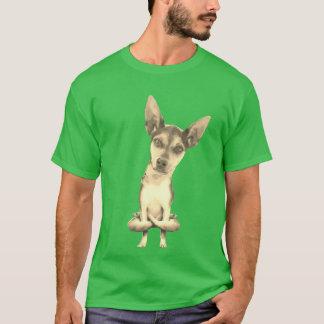 Dog T-Shirt: Yogi Doggie yoga funny tee