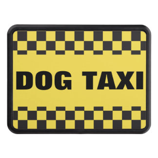 Dog Taxi Trailer Hitch Cover