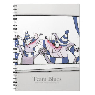 dog team blues forever notebook