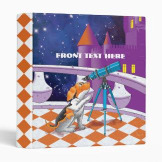 dog telescope vinyl binders