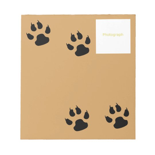 Dog Template Notepad