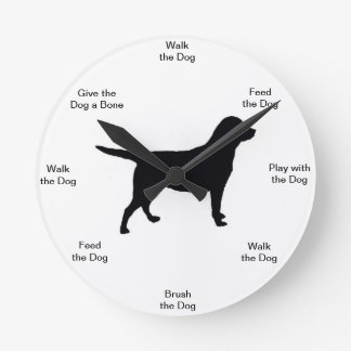 Dog Time Wall Clock