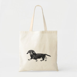 Dog Tote Bag - Dachshund