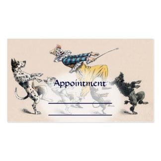 Dog Trainer, Clown, Dance Teacher Appointment card Business Card