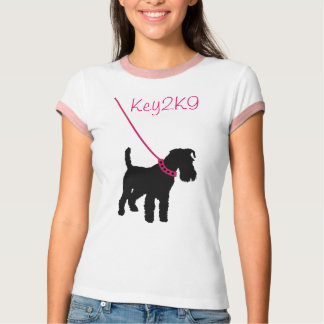 Dog Trainer Shirt Baby Ringer Tee with e-mail