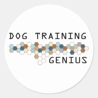 Dog Training Genius Stickers