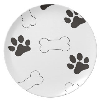 Dog Treats Plate