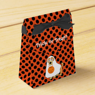Dog Trick or Treat Tent Favor Box