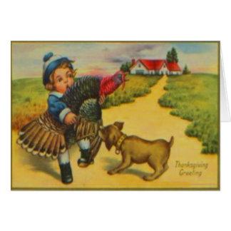 Dog & Turkey Cards