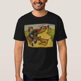 Dog & Turkey Tee Shirt
