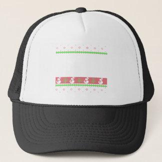 Dog Ulgy Christmas Trucker Hat