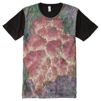 Dog Vomit Slime Mold All-Over-Print T-Shirt