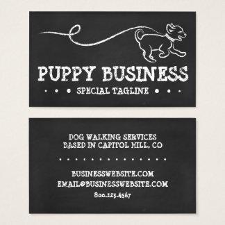 DOG WALK CHALK BUSINESS CARD
