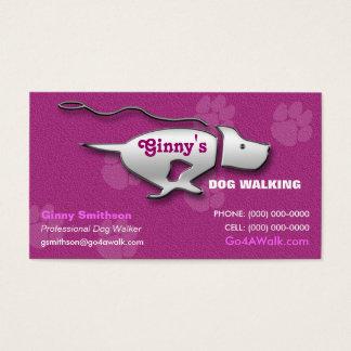 Dog Walker / Dog Groomer /Pet Sitter Business Card