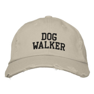 Dog Walker Embroidered Baseball Cap