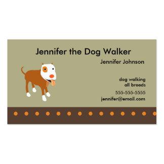 Dog Walker s Business Card