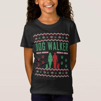 Dog Walker Ugly Christmas Sweater